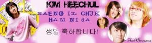Happy Birthday Heechul!!!
