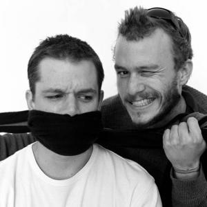 Heath Ledger Matt Damon heath ledger 9129668 510 510